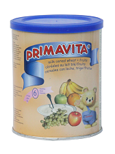 Primavita milk cereal wheat with fruits