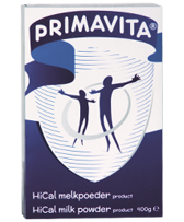 Primavita HiCal milk powder product